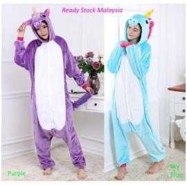 [READY ] Unicorn Adult Pajamas Cosplay Kigurumi Onesie Costume Sleepwear