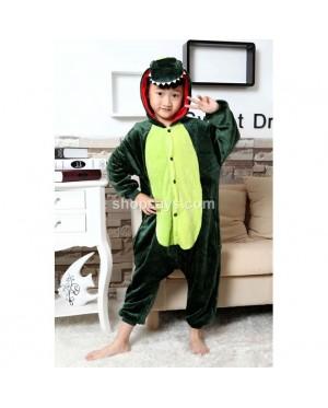 (READY ) Dinosaur Kids Pajamas Cosplay Kigurumi Onesie Costume Sleepwear