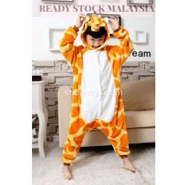 [READY ] Giraffe Kids Pajamas Cosplay Kigurumi Onesie Costume Sleepwear