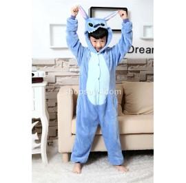 [READY] Stitch Kids Pajamas Cosplay Kigurumi Onesie Anime Costume Sleepwear