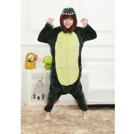 {READY ] Dinosaur Unisex Adult Pajamas Cosplay Kigurumi Onesie Anime Costume Sleepwear