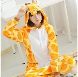 [READY ] Giraffe Unisex Adult Onesie Kigurumi Pajamas Anime Costume