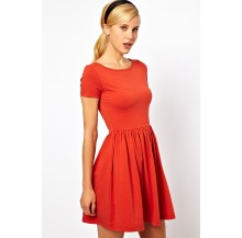 Kate Midi dress (Red)