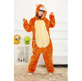 Tiger Adult Pajamas Cosplay Kigurumi Onesie Costume Sleepwear