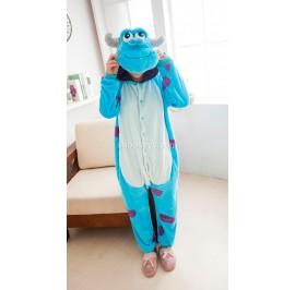 [READY ] Monster Sully Adult Pajamas Cosplay Kigurumi Onesie Costume