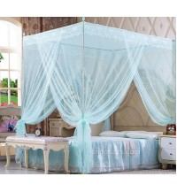 Luxury 4 Corner Post Mosquito Net Bed Kelambu
