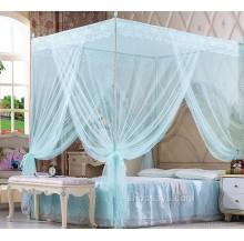 Luxury 4 Corner Post Mosquito Net Bed Kelambu