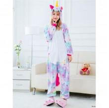 [READY MY] Stars Unicorn Adult Unisex Pajamas Cosplay Kigurumi Onesie Costume Sleepwear