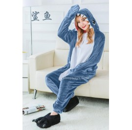 Shark Adult Unisex Pajamas Cosplay Kigurumi Onesie Costume Sleepwear
