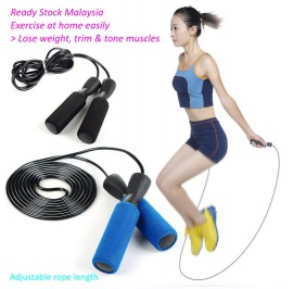 Jump Rope 2.8m Skipping Rope for Fitness Training Workout Exercise Boxing Speed Skip Training Athletic Sports Gym Jumprope