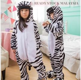 [READY ] Zebra Kids Children Pajamas Cosplay Kigurumi Onesie Anime Costume