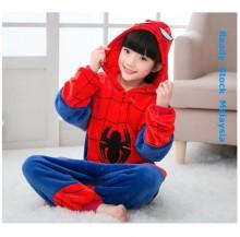 [READY ] Spider Kids Children Pajamas Cosplay Kigurumi Onesie Anime Costume
