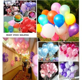 [20/50pcs] 12in Latex Balloons for Party/ Birthday/ Wedding
