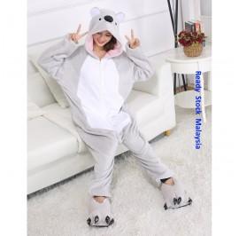 [READY ] Koala Adult Unisex Pajamas Cosplay Kigurumi Onesie Costume Sleepwear