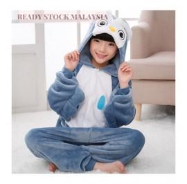 [READY  ] Owl Kids Children Pajamas Cosplay Kigurumi Onesie Anime Costume