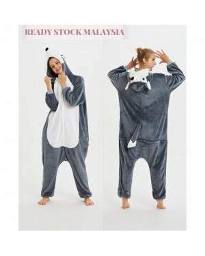 [READY ] 3D Husky Adult Unisex Pajamas Cosplay Kigurumi Onesie Costume Sleepwear