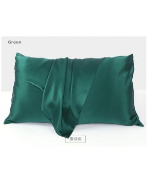 100% Silkworm Silk Pillowcase Both Side 19 momme with zipper 51 x76 cm Queen size