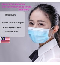 [READY} 3 ply Good Quality disposable mask per pack {stay safe}